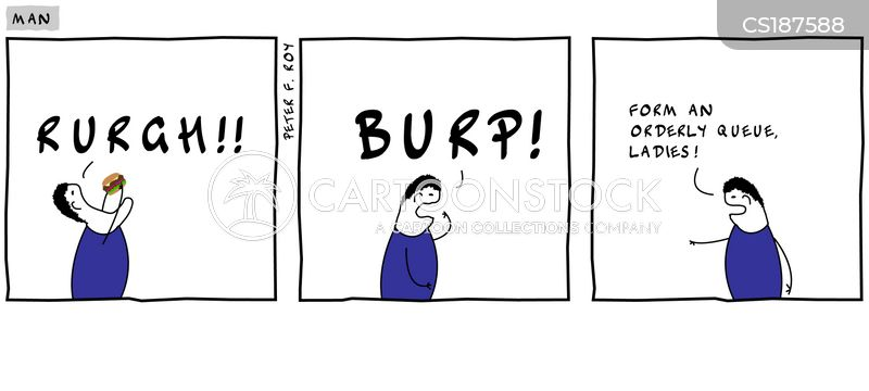 burping cartoon