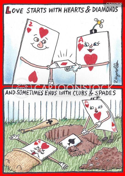 playing card cartoon