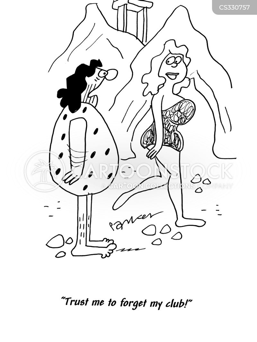 cavegirl cartoon
