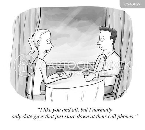 dating etiquette cartoon