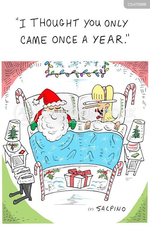 mrs. claus cartoon
