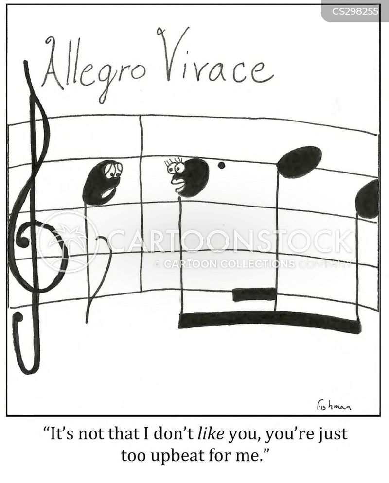 Allegro Vivace Cartoons and Comics - funny pictures from CartoonStock