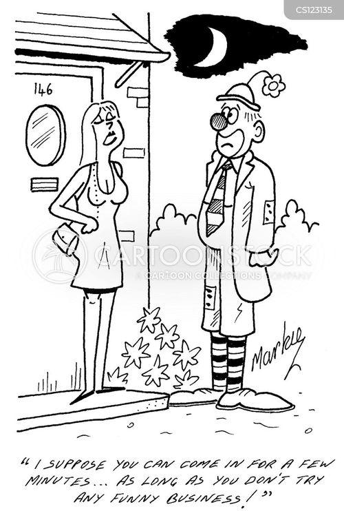 funny business cartoon
