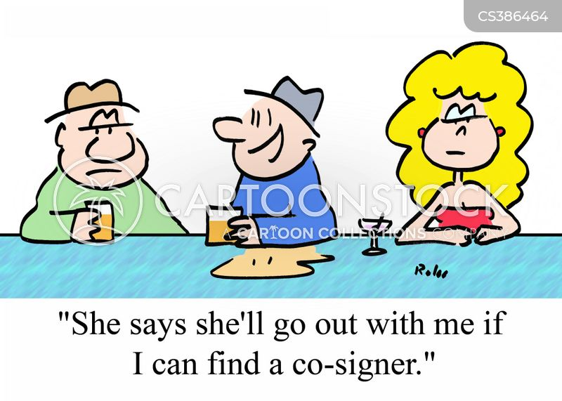 Co Signer cartoons, Co Signer cartoon, funny, Co Signer picture, Co Signer pictures, Co Signer image, Co Signer images, Co Signer illustration, Co Signer illustrations