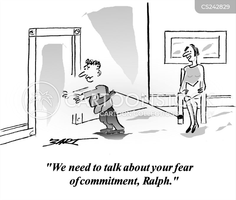 Afraid of commitment phobia