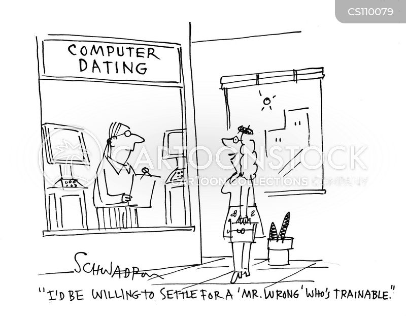 dating services cartoon
