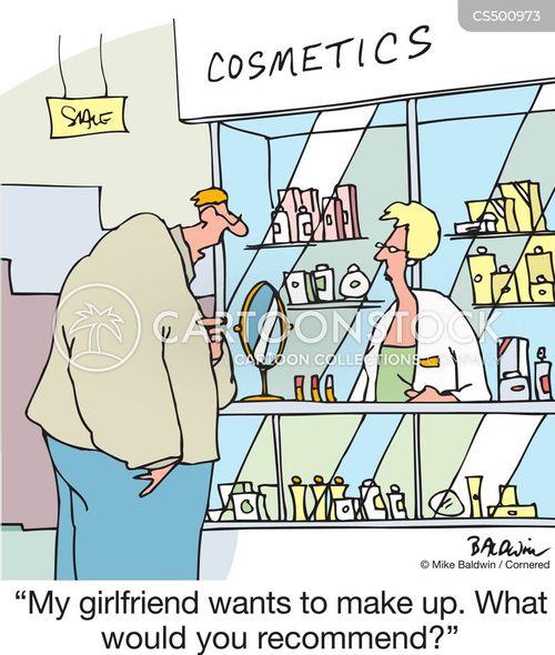 beauty counter cartoon