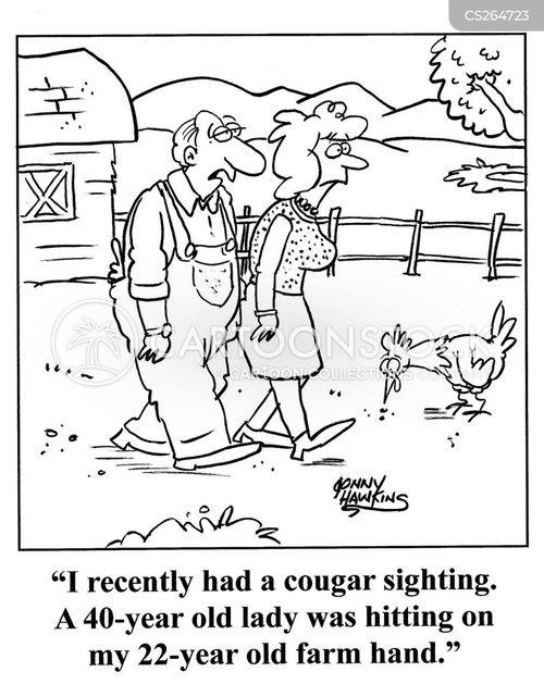 younger man cartoon