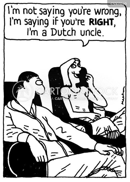 always right cartoon