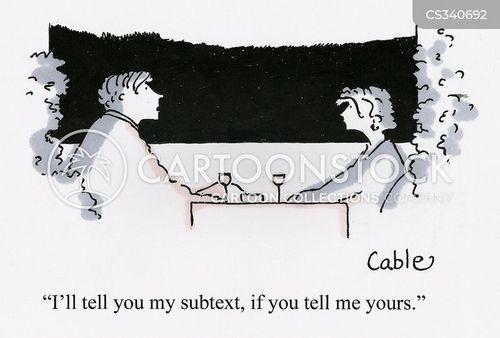 subtext cartoon
