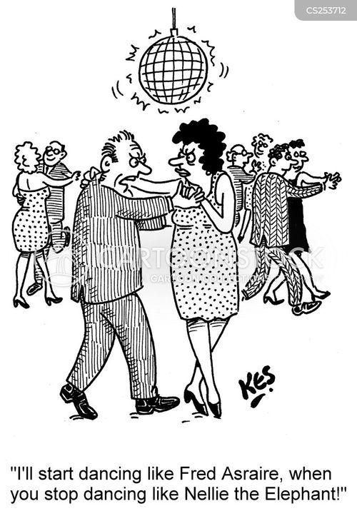 ballroom cartoon