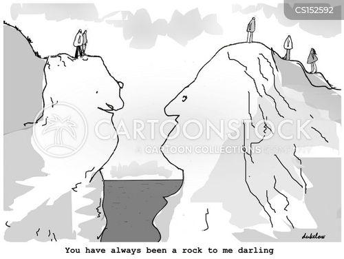 supportive husband cartoon