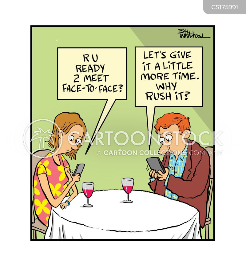 internet dates cartoon
