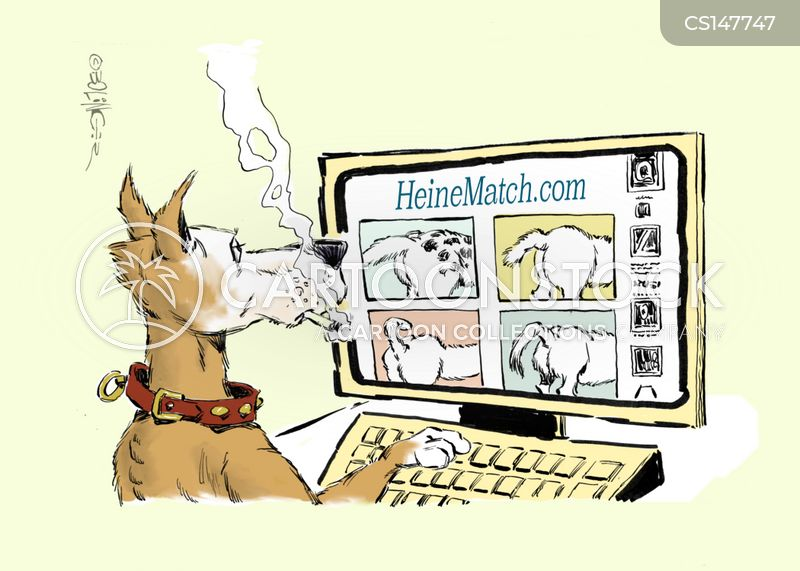 profile pages cartoon
