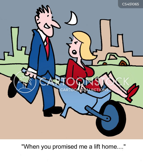 wheelbarrow cartoon