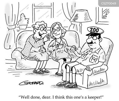 keeper cartoon