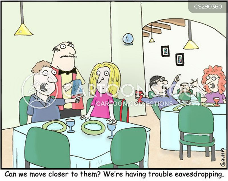 eavesdropper cartoon