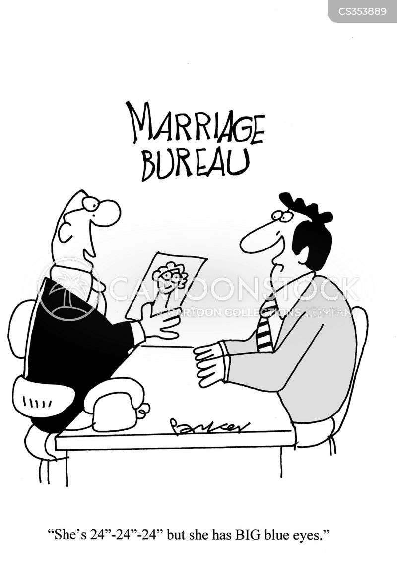 marriage bureaux cartoon