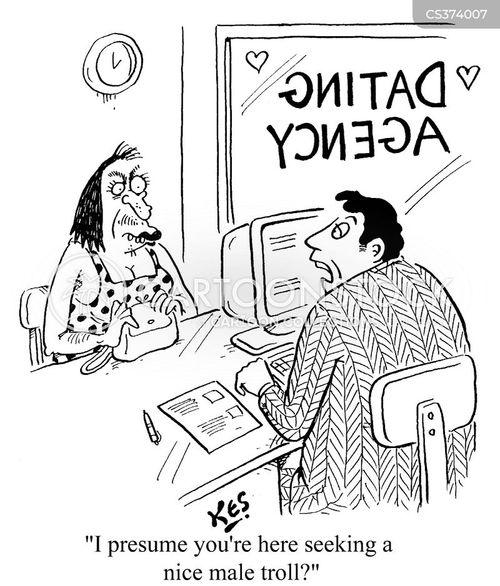 dating games cartoon