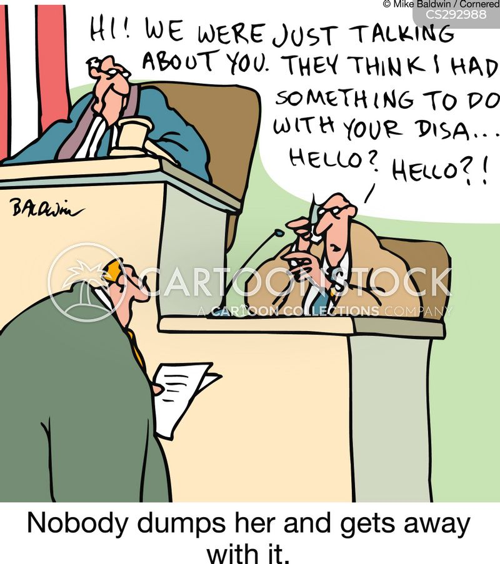 getting dumped cartoon