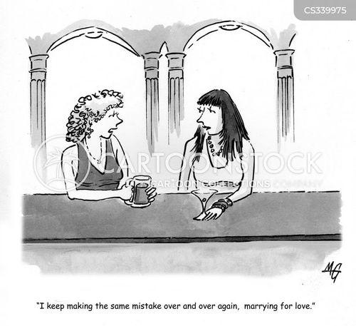 women talking cartoon