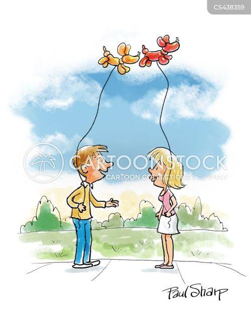 animal balloons cartoon