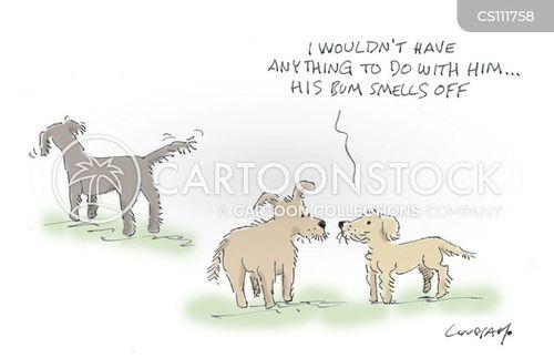 warning off cartoon