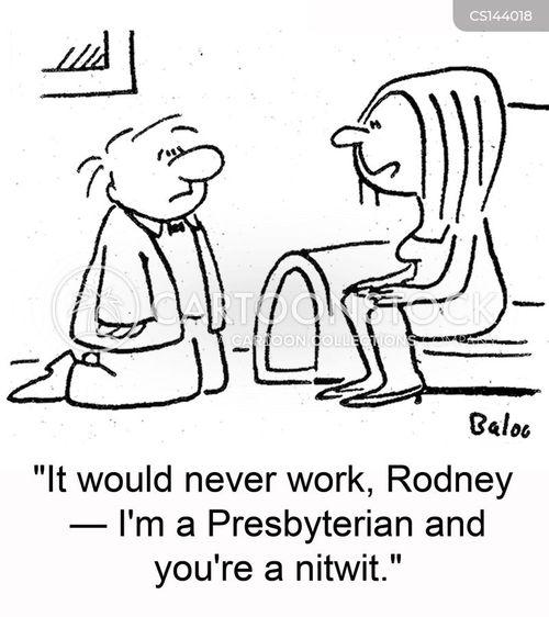 presbyterians cartoon