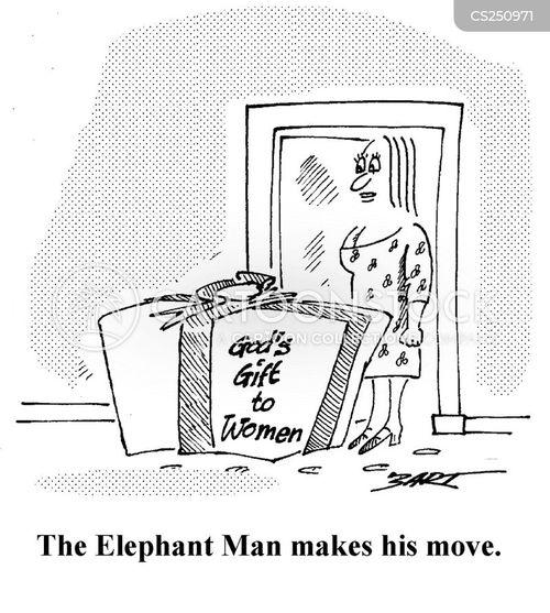 Elephant Man Cartoons And Comics