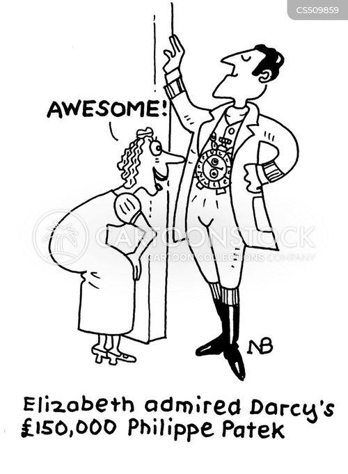darcy cartoon