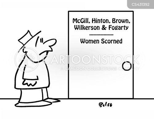spinster cartoon