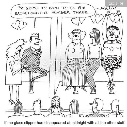 bachelorette cartoon
