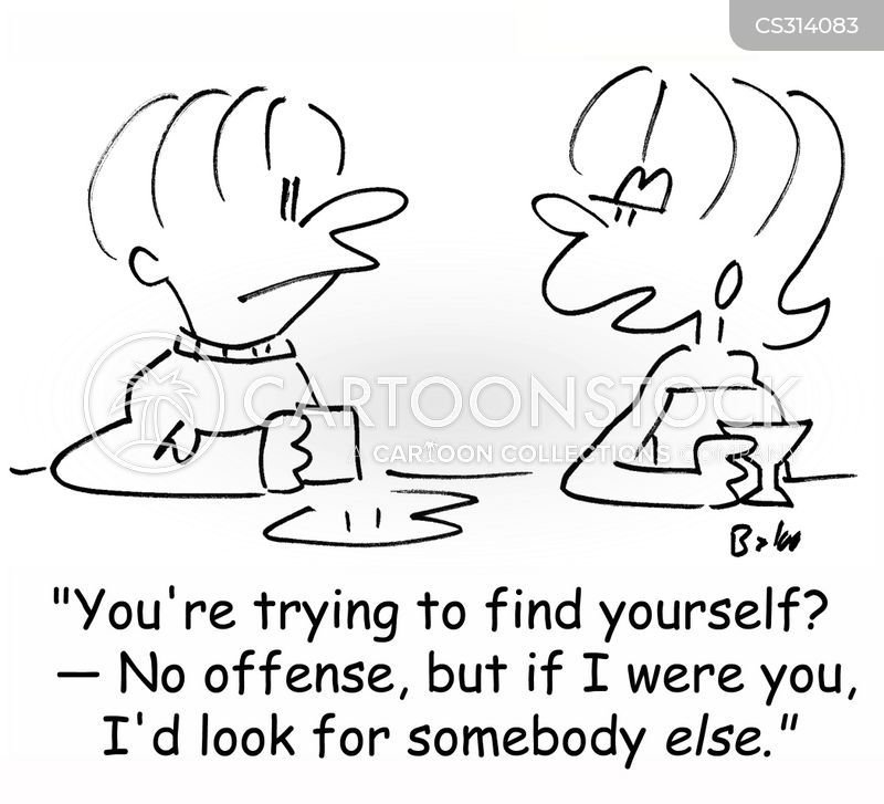 find yourself cartoon