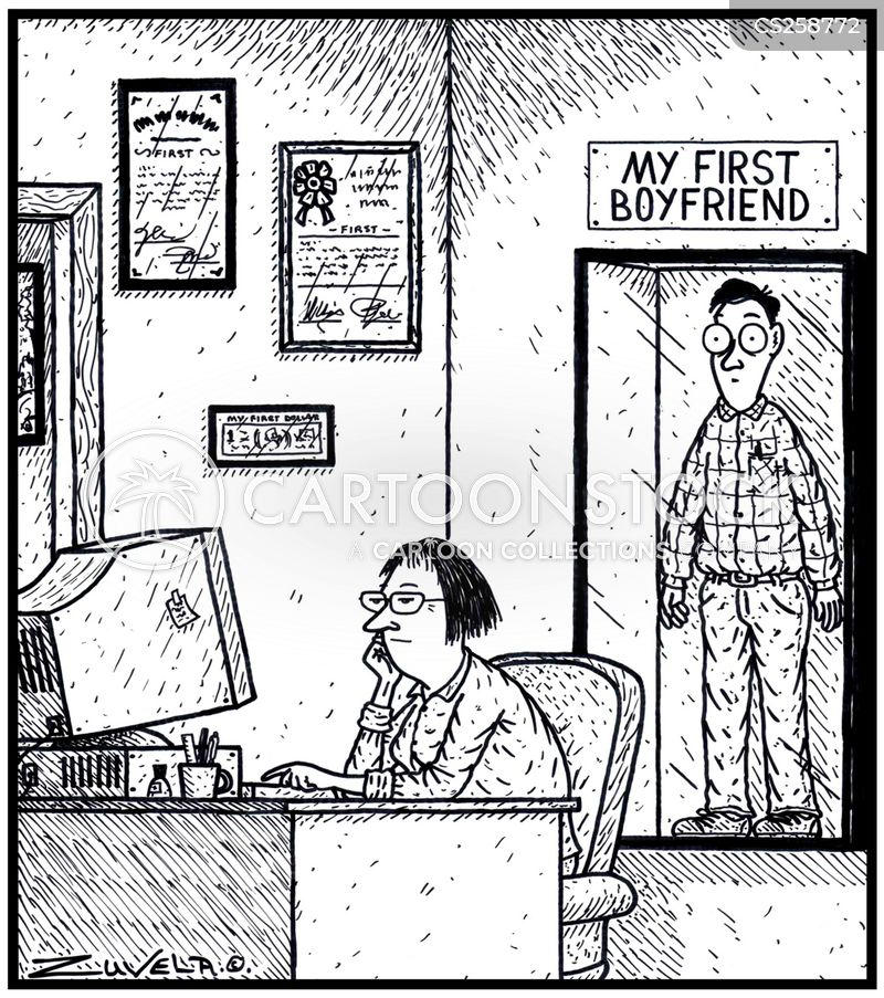first boyfriend cartoon