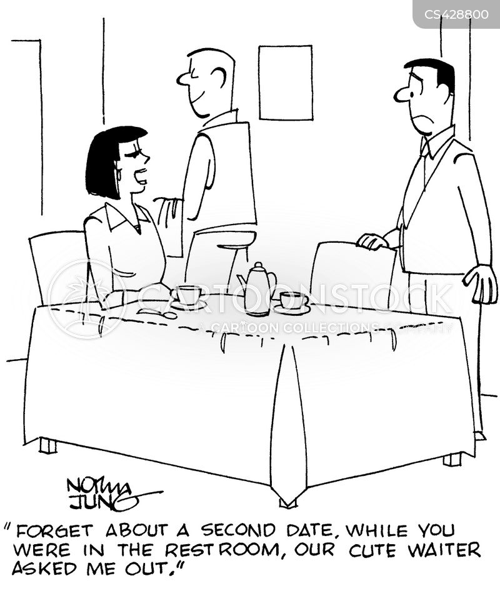 second date cartoon