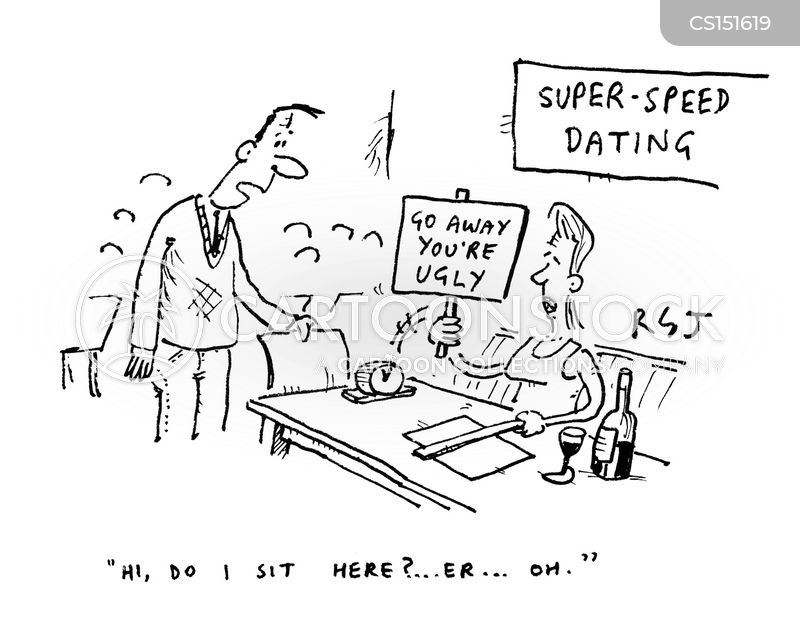 Speed dating cartoons