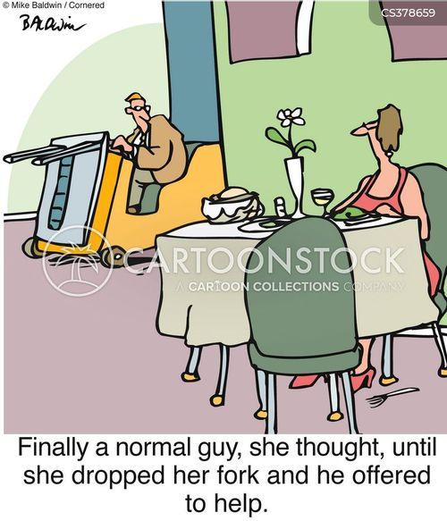 fork lift truck cartoon