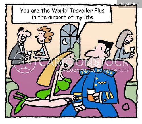 world traveller cartoon