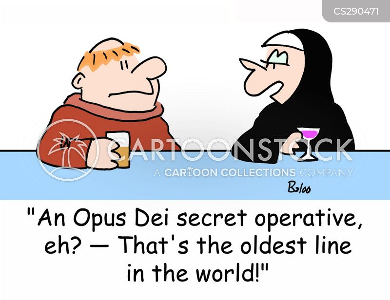Opus Dei Cartoons And Comics Funny Pictures From Cartoonstock