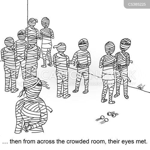 mummification cartoon