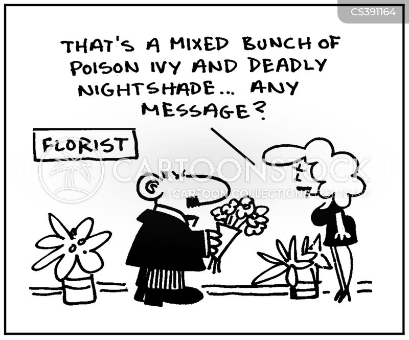 poison ivy cartoon