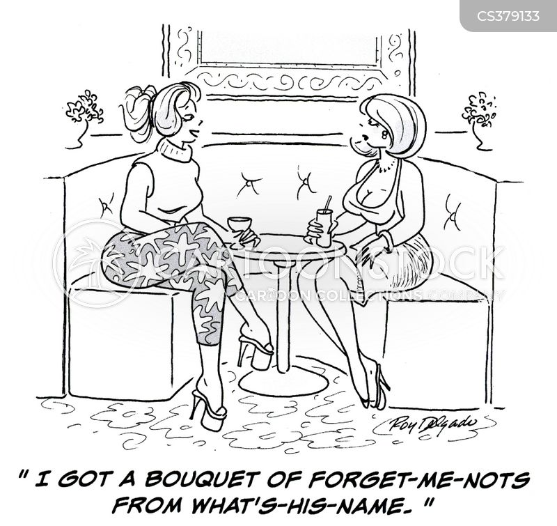 forget me nots cartoon