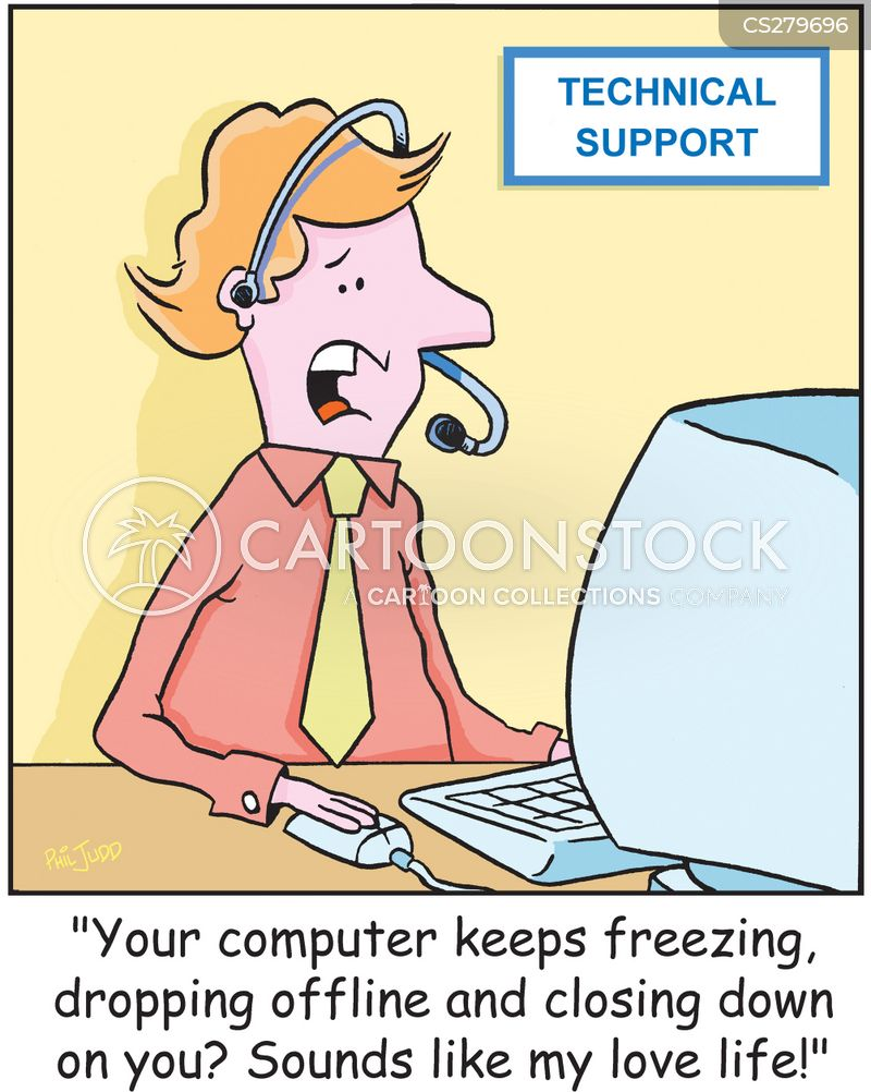 pc problems cartoon