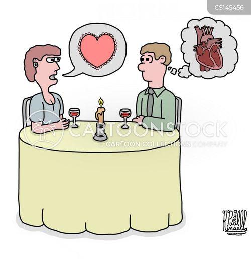 heart to heart cartoon