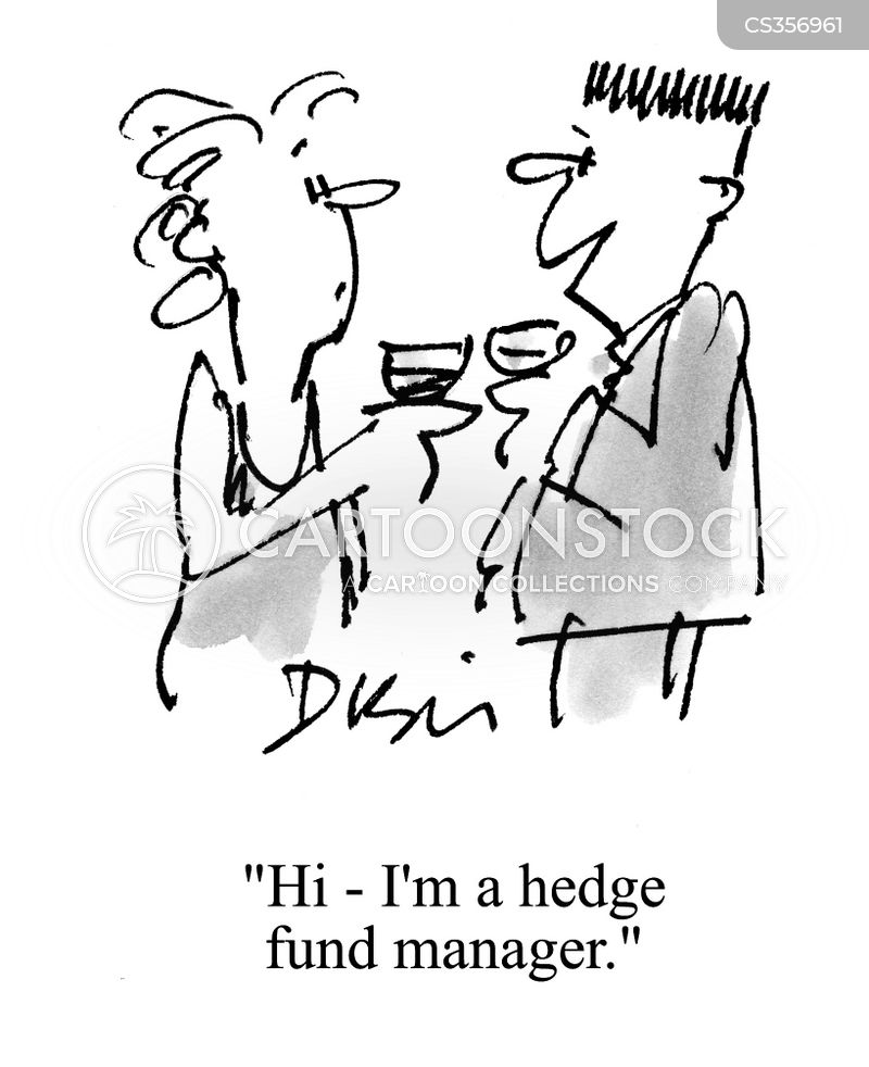 hedge fund managers cartoon