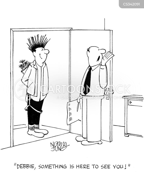 mohawks cartoon
