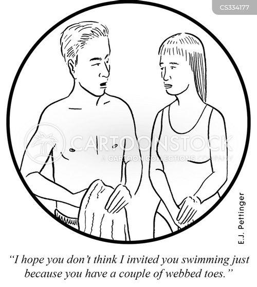 freakish cartoon