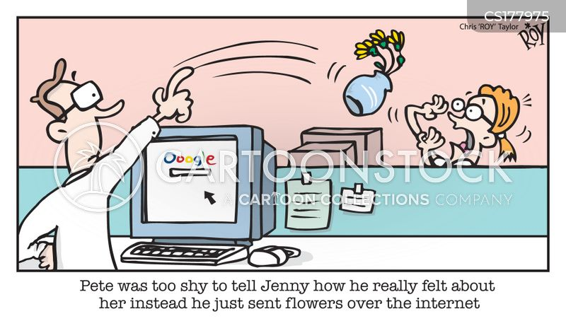 office romance cartoon