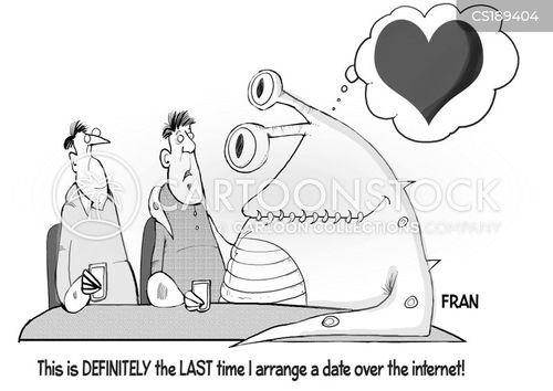 dating website cartoon
