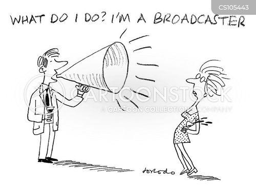 loudspeaker cartoon